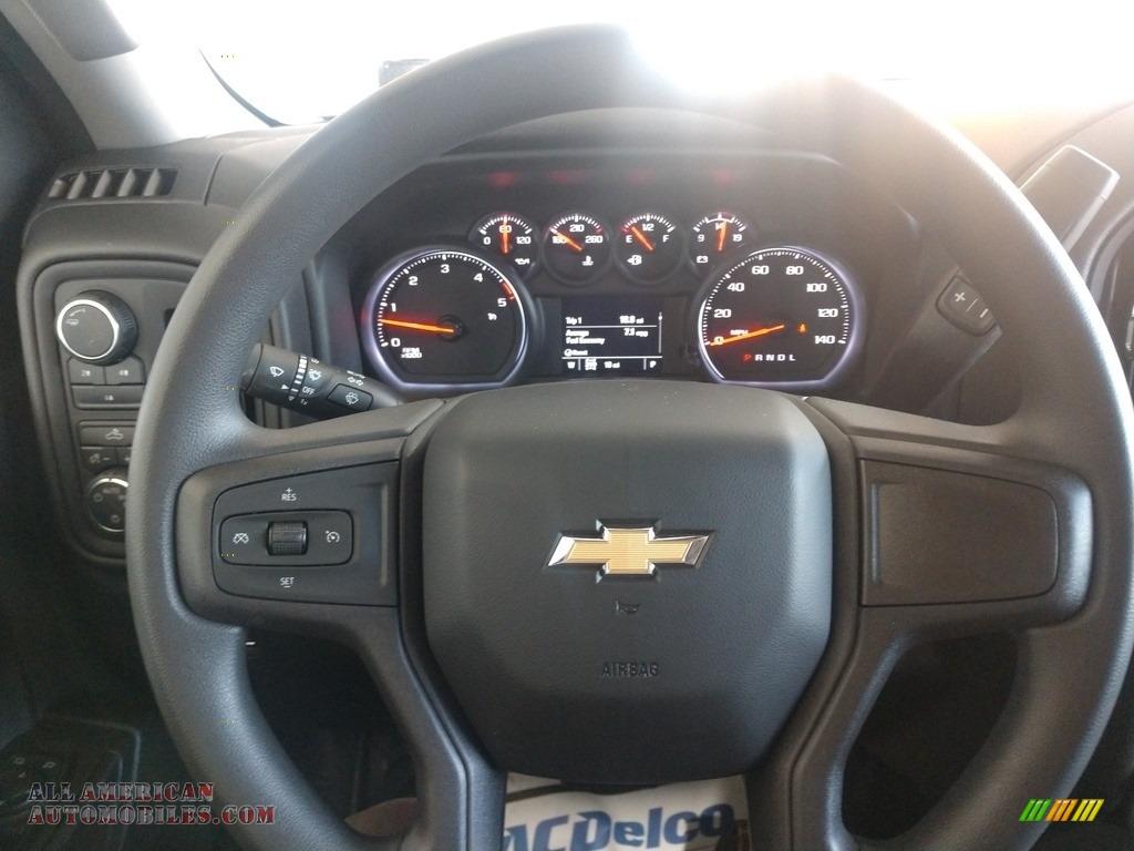 2020 Silverado 2500HD Work Truck Crew Cab 4x4 - Silver Ice Metallic / Jet Black photo #19