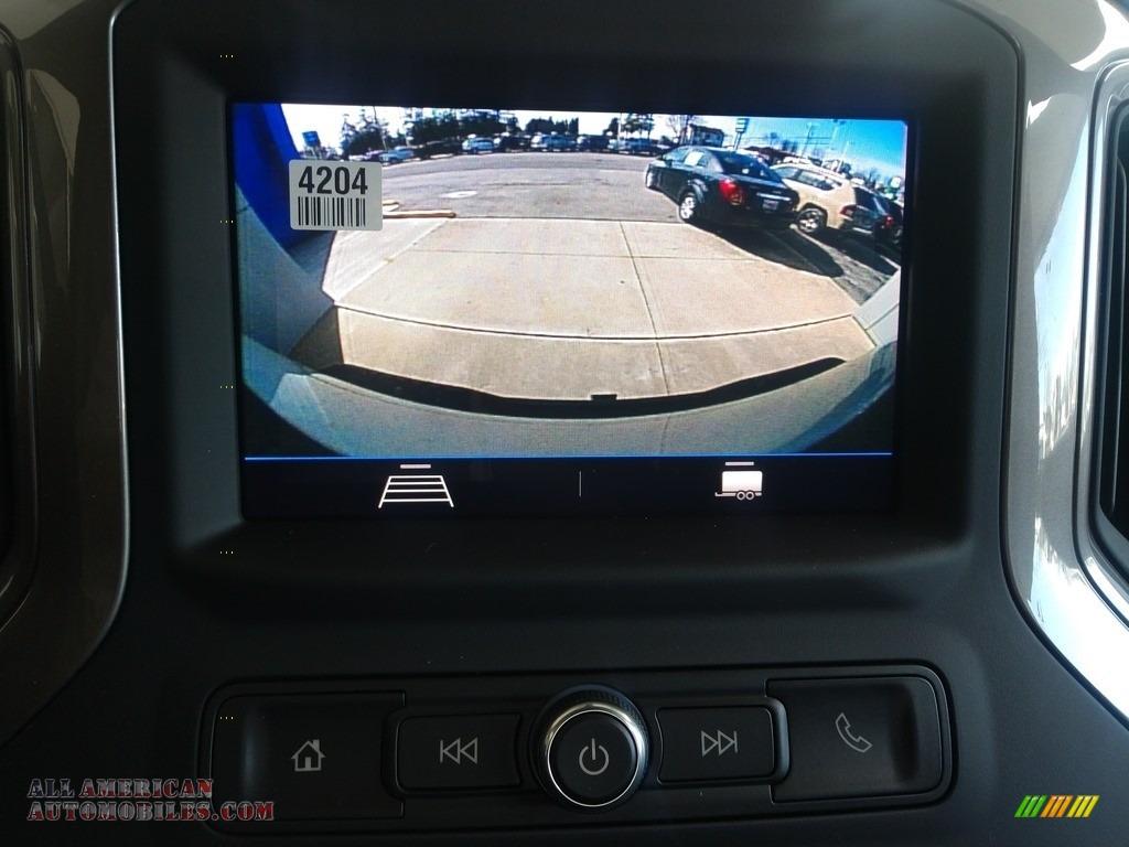 2020 Silverado 2500HD Work Truck Crew Cab 4x4 - Silver Ice Metallic / Jet Black photo #24
