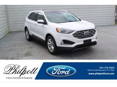 Oxford White 2020 Ford Edge SEL