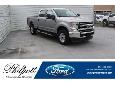 Iconic Silver 2020 Ford F250 Super Duty STX Crew Cab 4x4