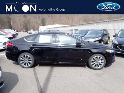 Agate Black 2020 Ford Fusion SE AWD