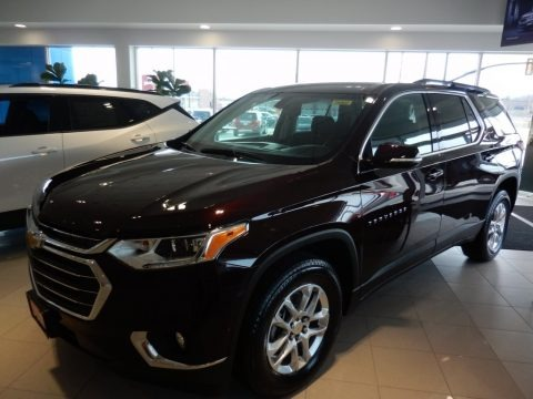 Black Cherry Metallic 2020 Chevrolet Traverse LT AWD
