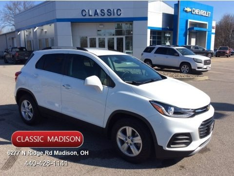 Summit White 2020 Chevrolet Trax LT