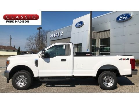 Oxford White 2020 Ford F350 Super Duty XL Regular Cab 4x4