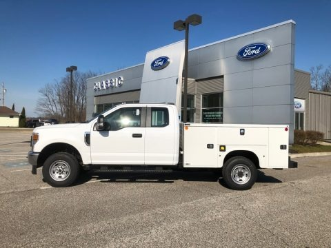 Oxford White 2020 Ford F250 Super Duty XL Crew Cab 4x4 Chassis