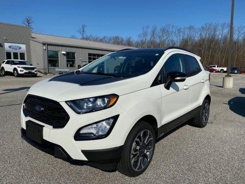Diamond White 2020 Ford EcoSport SE 4WD