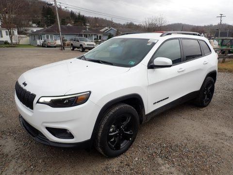 Bright White 2020 Jeep Cherokee Altitude 4x4