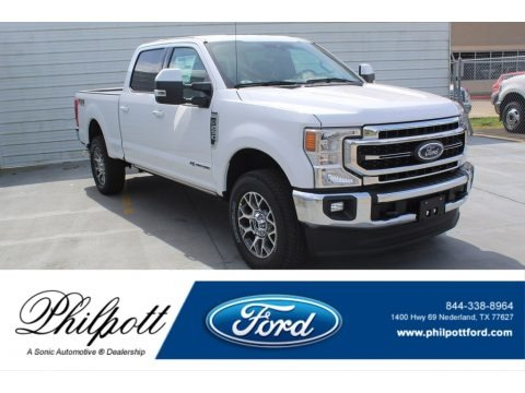 Oxford White 2020 Ford F250 Super Duty Lariat Crew Cab 4x4