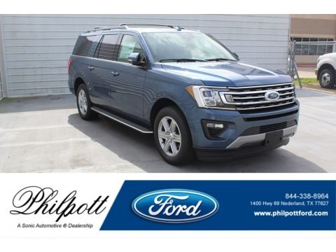 Blue 2020 Ford Expedition XLT Max