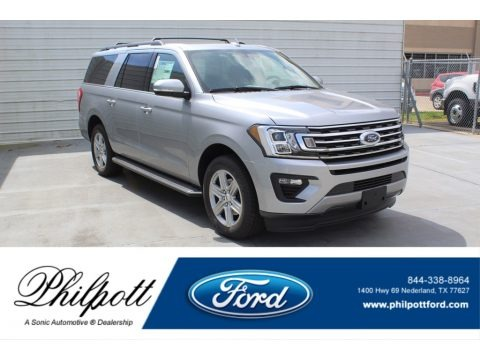 Iconic Silver 2020 Ford Expedition XLT Max