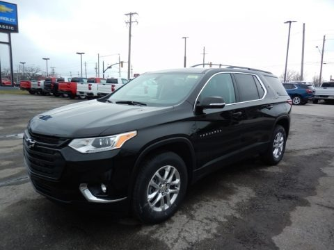 Mosaic Black Metallic 2020 Chevrolet Traverse LT