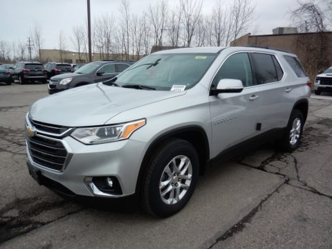 Silver Ice Metallic 2020 Chevrolet Traverse LT AWD