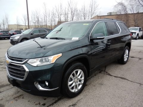 Graphite Metallic 2020 Chevrolet Traverse LT AWD