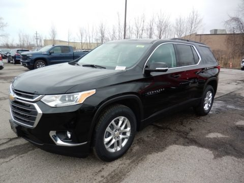 Mosaic Black Metallic 2020 Chevrolet Traverse LT AWD