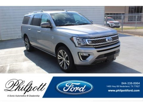 Iconic Silver 2020 Ford Expedition King Ranch Max