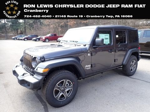 Granite Crystal Metallic 2020 Jeep Wrangler Unlimited Sport 4x4