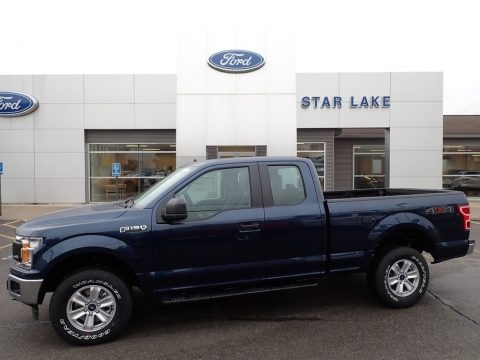 Blue Jeans 2020 Ford F150 XLT SuperCab 4x4