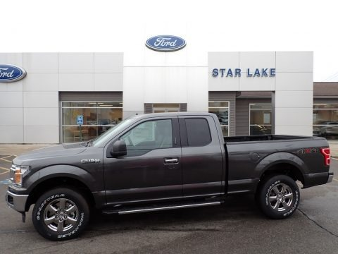 Magnetic 2020 Ford F150 XLT SuperCab 4x4