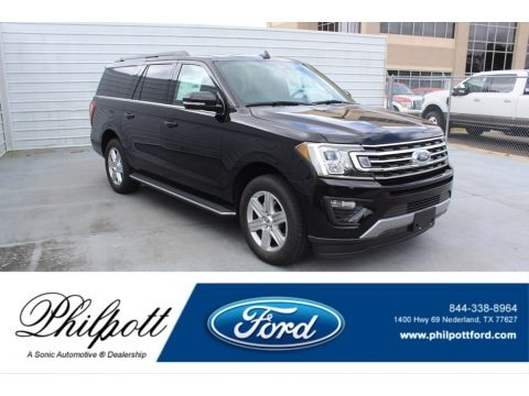 Agate Black 2020 Ford Expedition XLT Max