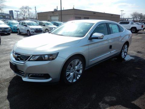 Silver Ice Metallic 2020 Chevrolet Impala Premier