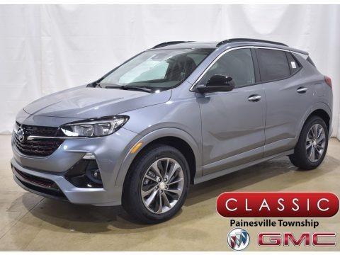 Satin Steel Metallic 2020 Buick Encore GX Select AWD