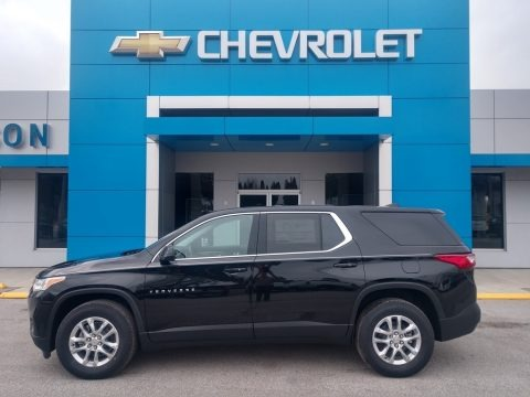 Mosaic Black Metallic 2020 Chevrolet Traverse LS
