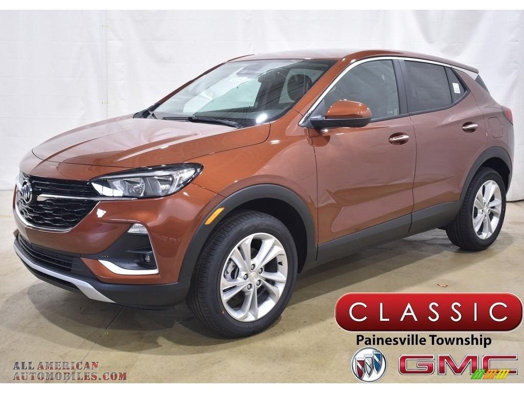 2020 Encore GX Preferred AWD - Burnished Bronze Metallic / Ebony photo #1