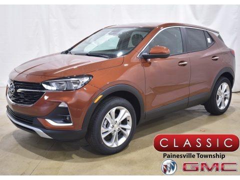Burnished Bronze Metallic 2020 Buick Encore GX Preferred AWD