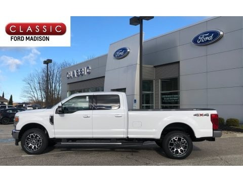Oxford White 2020 Ford F350 Super Duty XLT Crew Cab 4x4