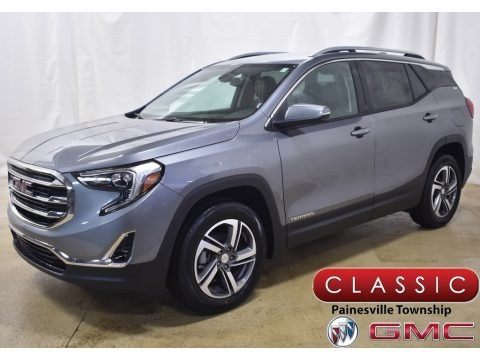 Satin Steel Metallic 2020 GMC Terrain SLT AWD