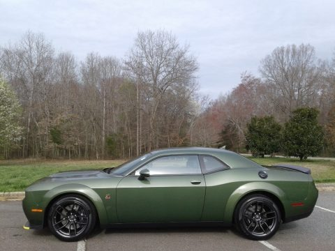 F8 Green 2020 Dodge Challenger R/T Scat Pack Widebody