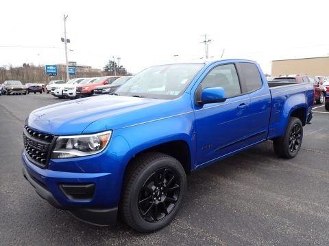 Kinetic Blue Metallic 2020 Chevrolet Colorado LT Extended Cab 4x4