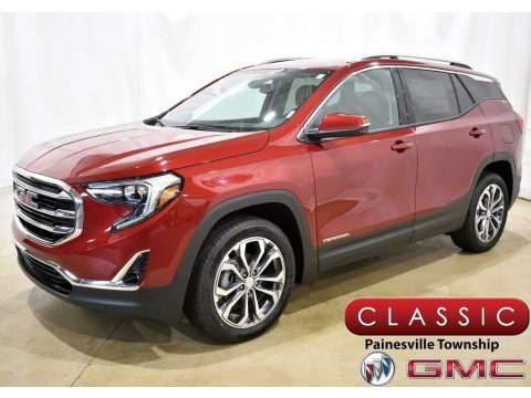 Red Quartz Tintcoat 2020 GMC Terrain SLT AWD