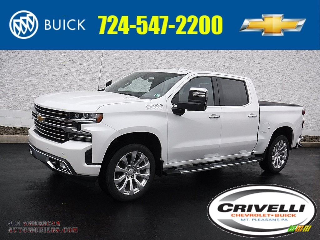 2020 Silverado 1500 High Country Crew Cab 4x4 - Summit White / Jet Black/­Umber photo #1