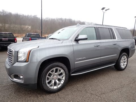 Satin Steel Metallic 2020 GMC Yukon XL SLT 4WD