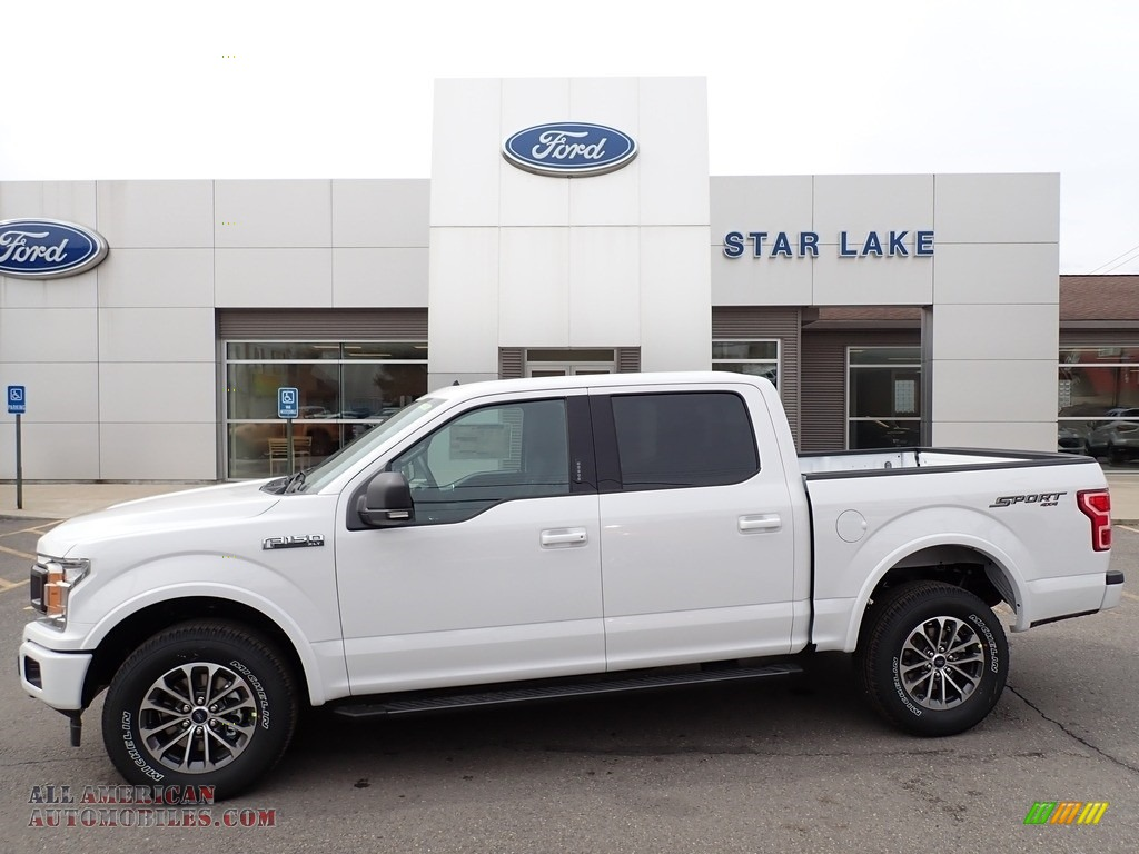 Oxford White / Medium Earth Gray Ford F150 XLT SuperCrew 4x4