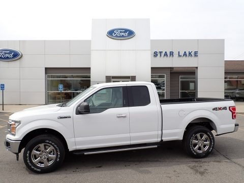Oxford White 2020 Ford F150 XLT SuperCab 4x4