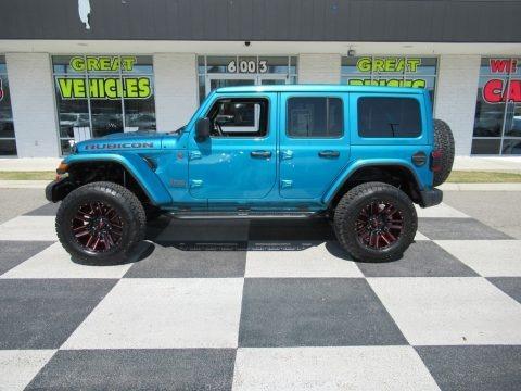 Bikini Pearl 2020 Jeep Wrangler Unlimited Rubicon 4x4