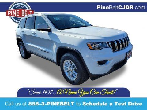Bright White 2020 Jeep Grand Cherokee Laredo E 4x4