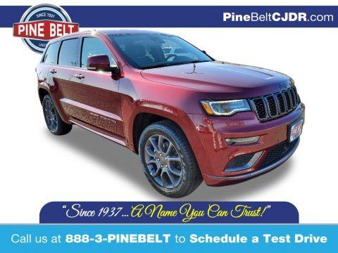 Velvet Red Pearl 2020 Jeep Grand Cherokee High Altitude 4x4