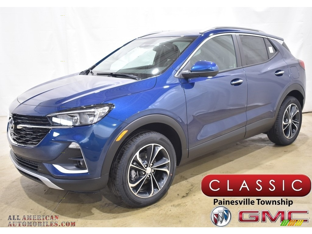 2020 Encore GX Select AWD - Deep Azure Metallic / Ebony photo #1