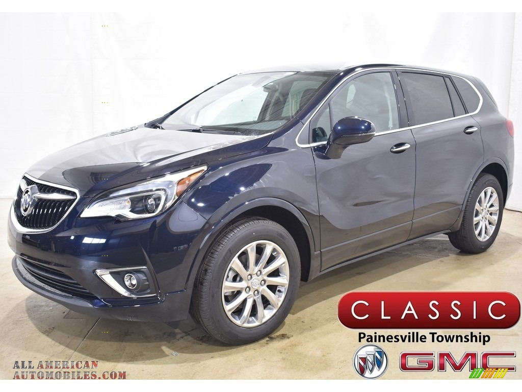 Dark Moon Blue Metallic / Dark Galvanized Buick Envision Essence AWD