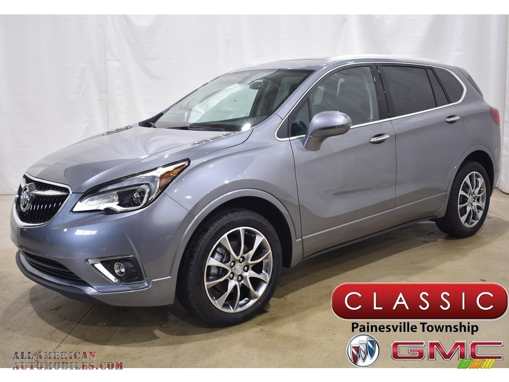 2020 Envision Essence AWD - Satin Steel Metallic / Ebony photo #1