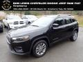 Jeep Cherokee Latitude Plus Diamond Black Crystal Pearl photo #1