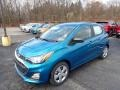 Chevrolet Spark LS Caribbean Blue Metallic photo #1