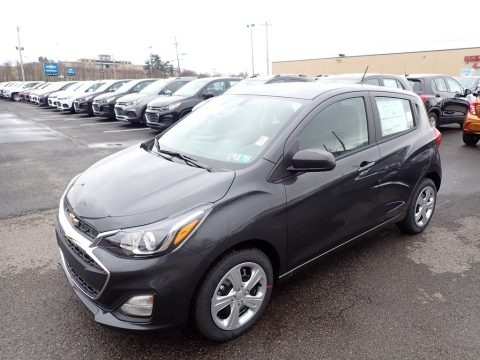 Nightfall Gray Metallic 2020 Chevrolet Spark LS