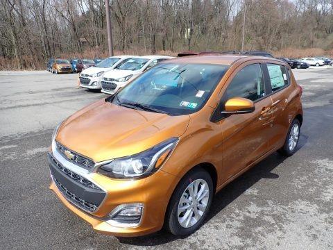 Orange Burst Metallic 2020 Chevrolet Spark LT