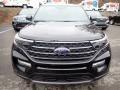 Ford Explorer XLT Agate Black Metallic photo #4
