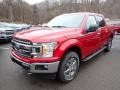 Ford F150 XLT SuperCrew 4x4 Rapid Red photo #5