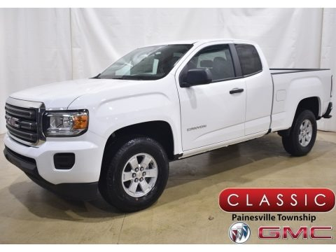 Summit White 2020 GMC Canyon Extended Cab 4WD